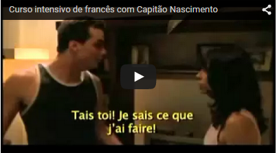 Francês com o Capitão Nascimento!