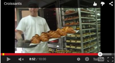 Como são feitos os Croissants e os Pains au chocolat na França