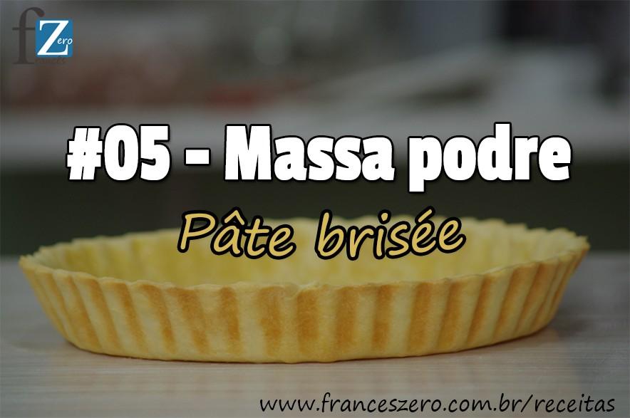Como fazer uma Massa Podre fácil para torta.