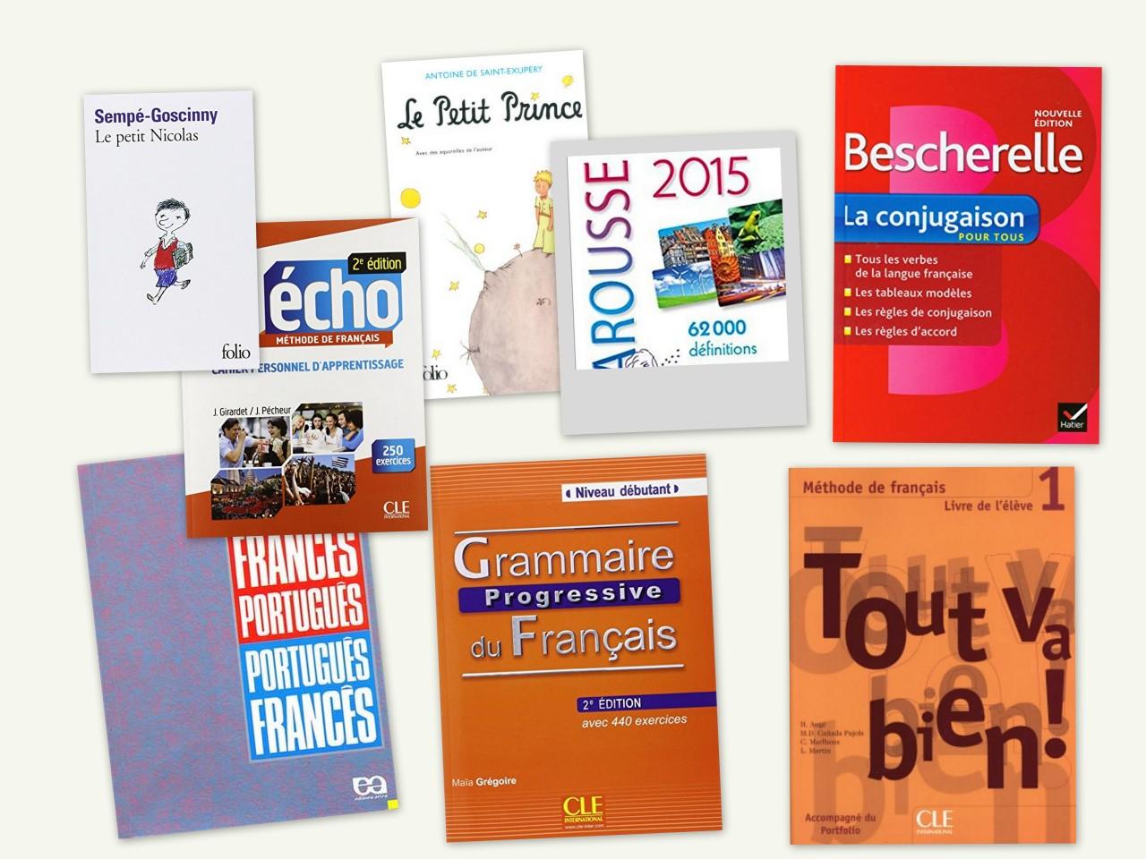 Livros recomendados para aprender francês sozinho (e os equivalentes online)